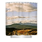 Crater Lake IIi Shower Curtain