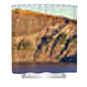 Crater Rim Shower Curtain