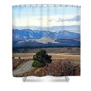 Crater Road California Shower Curtain