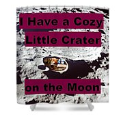 Crater11 Shower Curtain