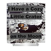 Crater14 Shower Curtain