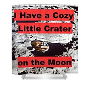 Crater15 Shower Curtain