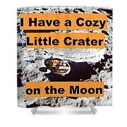 Crater16 Shower Curtain