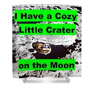 Crater19 Shower Curtain