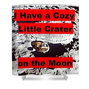 Crater2 Shower Curtain