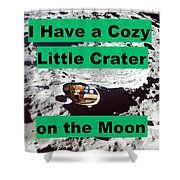 Crater20 Shower Curtain