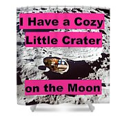 Crater24 Shower Curtain