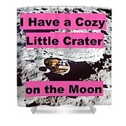 Crater25 Shower Curtain