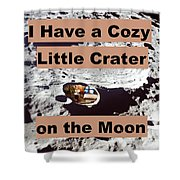 Crater26 Shower Curtain