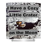 Crater27 Shower Curtain