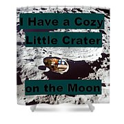 Crater28 Shower Curtain