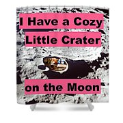 Crater29 Shower Curtain