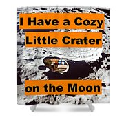 Crater3 Shower Curtain