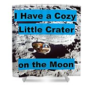 Crater30 Shower Curtain