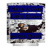 Crater32 Shower Curtain
