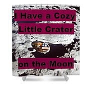 Crater33 Shower Curtain