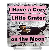 Crater38 Shower Curtain
