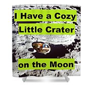 Crater39 Shower Curtain