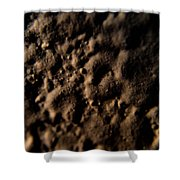 Craters Shower Curtain