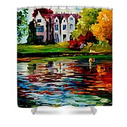 Crawley - West Sussex - England Shower Curtain