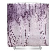 Crawling Roots Shower Curtain