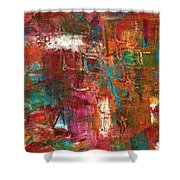 Crazy Abstract 1 Shower Curtain