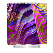 Crazy Busy Shower Curtain