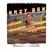 Crazy Dance Shower Curtain