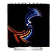 Crazy Dancer Shower Curtain