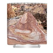 Crazy Hill Shower Curtain