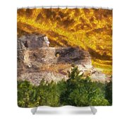 Crazy Horse Monument Pa Shower Curtain