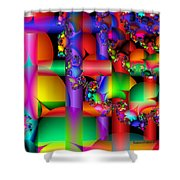 Crazy Love Shower Curtain