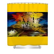 Crazy Nature Shower Curtain