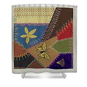 Crazy Quilt (section) Shower Curtain