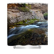 Crazy Woman Creek Shower Curtain