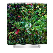 Crazyquilt Garden Shower Curtain