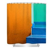 Creamsicle Shower Curtain