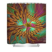 Creamy Dreamy Delicious Shower Curtain