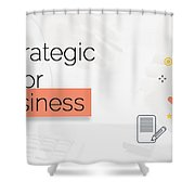 Create Your Own Content Strategy For 2017  Shower Curtain