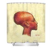 Created Mankind In His Own Image Shower Curtain