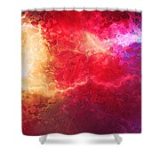 Creation - Abstract Art Shower Curtain