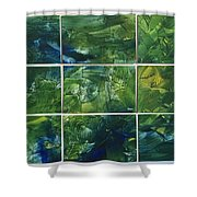 Creation - Jungle Shower Curtain