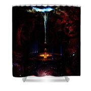 Creation Of Time Shower Curtain