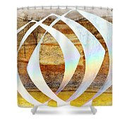 Creation Revisited Shower Curtain