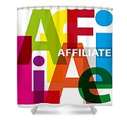 Creative Title - Affilate Shower Curtain