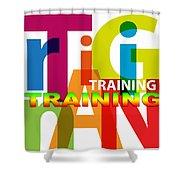 Creative Title - Training Shower Curtain