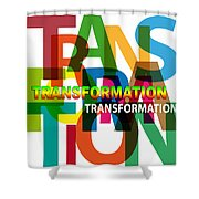Creative Title - Transformation Shower Curtain