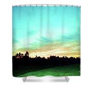 Creator's Sky Painting Shower Curtain