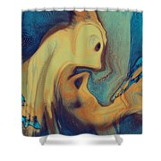 Creatures Shower Curtain