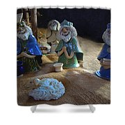 Creche Kings Shower Curtain